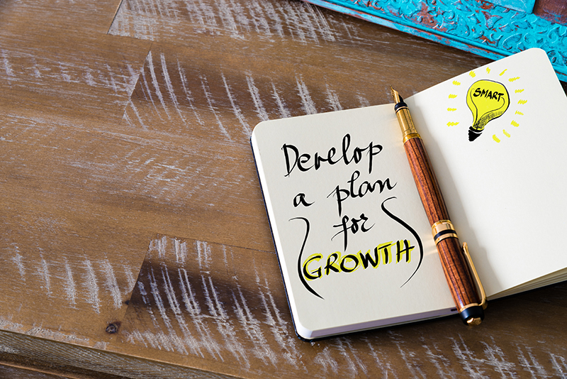 Why personal growth requires a plan